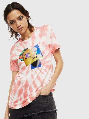 T-SILY-S4, Rosa/Blanco - Camisetas