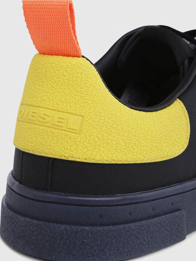 Diesel - S-CLEVER LOW, Negro/Amarillo - Sneakers - Image 5