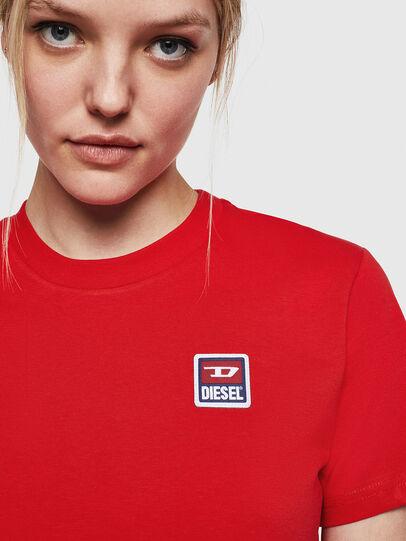 Diesel - T-SILY-ZE, Rojo Fuego - Camisetas - Image 5