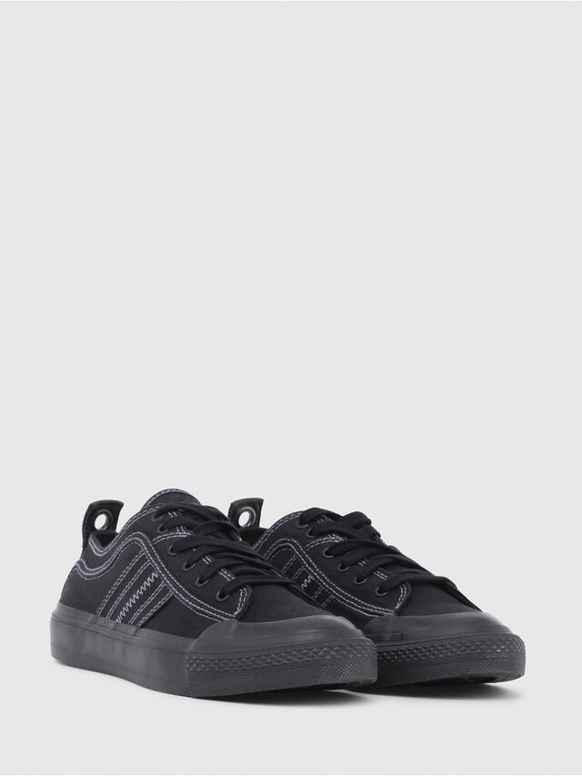Diesel - S-ASTICO LOW LACE W, Negro - Sneakers - Image 2
