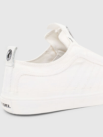 Diesel - S-ASTICO LOW ZIP SP, Blanco - Sneakers - Image 6