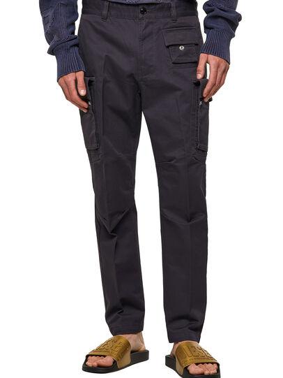 Diesel - P-COR, Verde Militar - Pantalones - Image 1