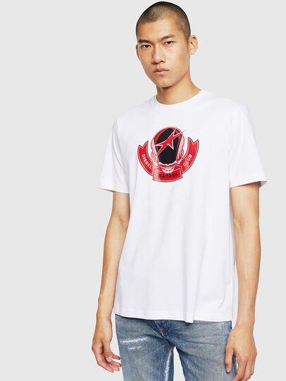 Diesel - T-JUST-B1, Blanco - Camisetas - Image 1