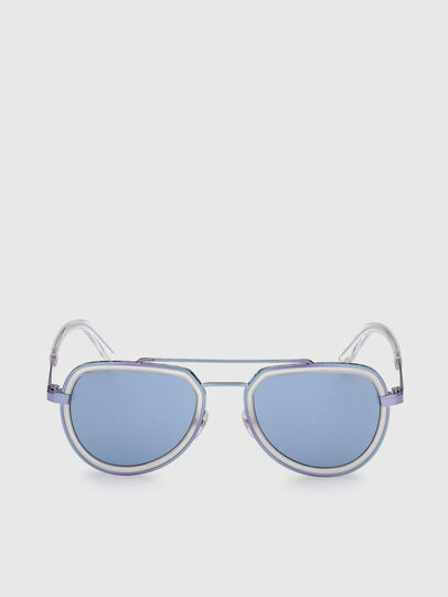 Diesel - DL0266, Azul - Gafas de sol - Image 1