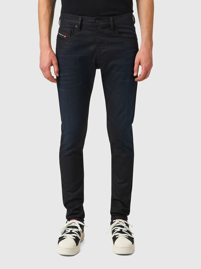 Diesel - D-Strukt JoggJeans® 069XN, Negro/Gris oscuro - Vaqueros - Image 1