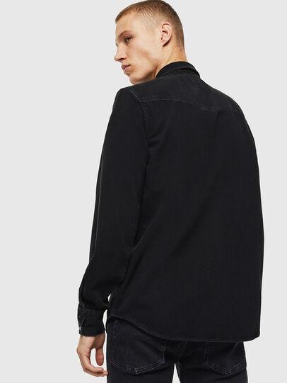 Diesel - D-EAST-P, Negro - Camisas de Denim - Image 2