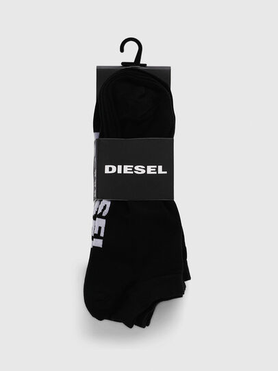 Diesel - SKM-GOST-THREEPACK, Negro - Calcetines - Image 2