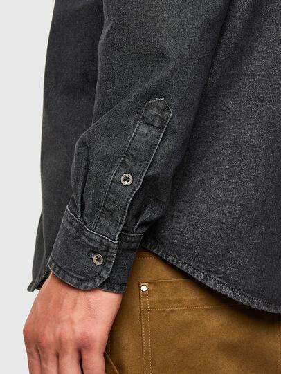 Diesel - D-BILLY, Negro - Camisas de Denim - Image 4