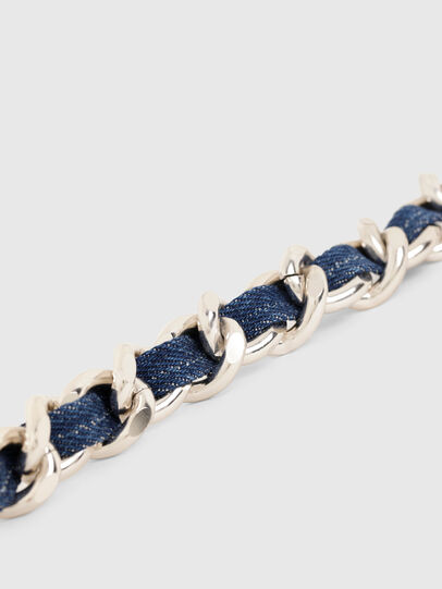 Diesel - B-CHAIN, Dorado/Azul marino - Cinturones - Image 4