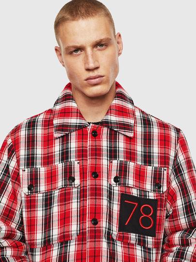 Diesel - S-JOHNS, Rojo/Negro - Camisas - Image 5
