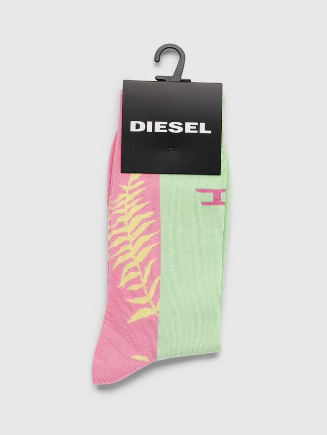 Diesel - SKM-RAY, Rosa - Calcetines - Image 2