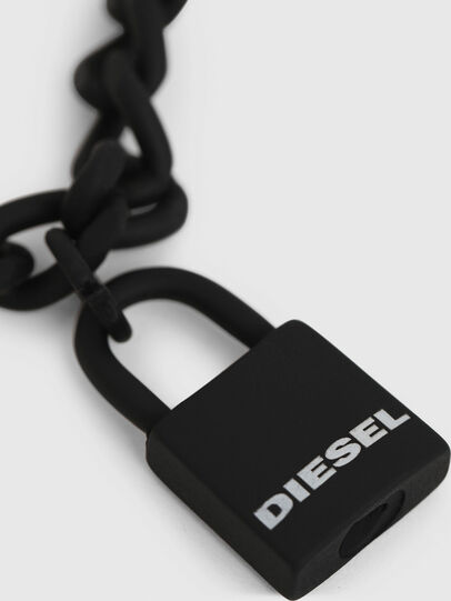 Diesel - A-NEZED, Negro - Joyas y Accesorios - Image 2
