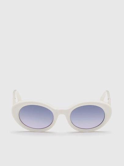 Diesel - DL0281, Blanco - Gafas de sol - Image 1