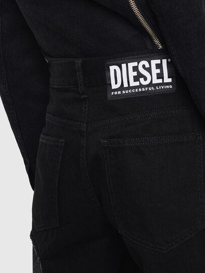 Diesel - DE-REIKA-SX, Negro - Pantalones - Image 5