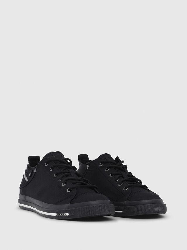 Diesel - EXPOSURE LOW I, Negro - Sneakers - Image 2
