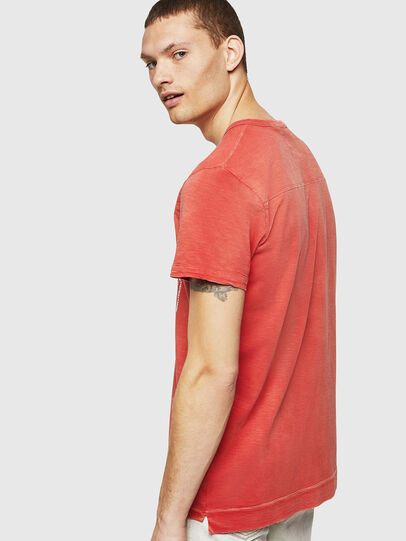 Diesel - T-DIEGO-CUT-AB, Rojo Fuego - Camisetas - Image 2