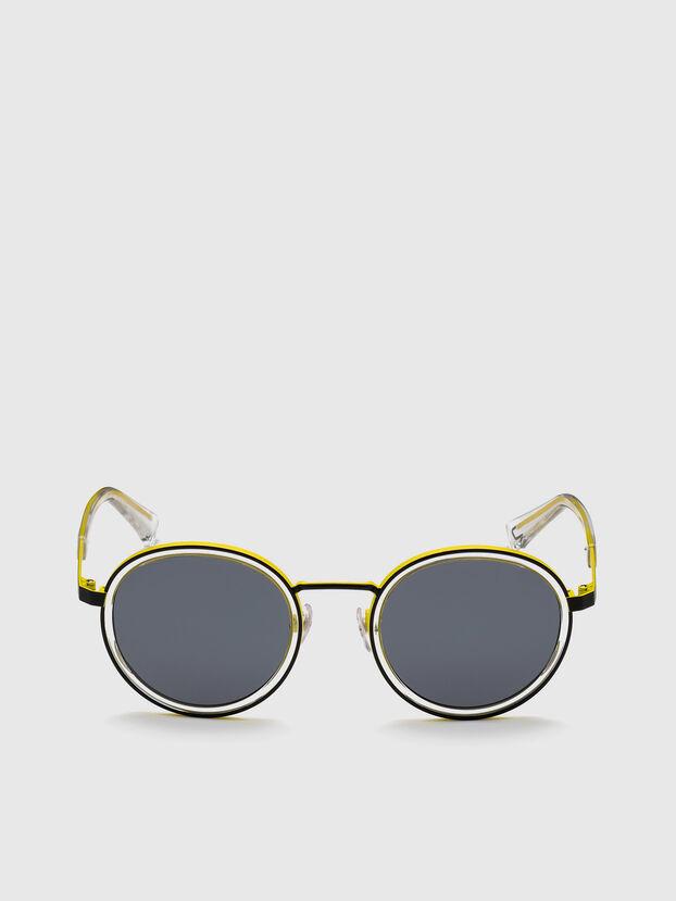 DL0321, Negro/Amarillo - Gafas de sol