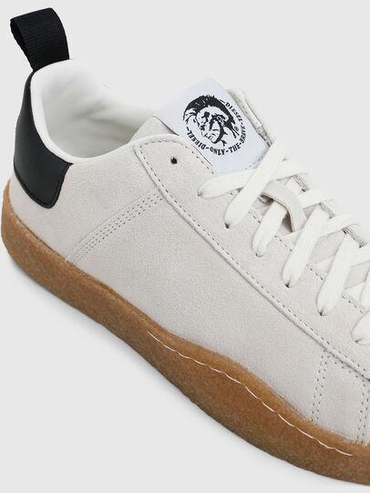 Diesel - S-CLEVER PAR LOW, Blanco/Negro - Sneakers - Image 4