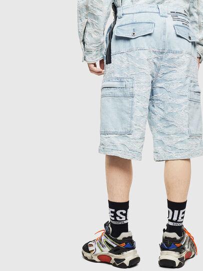 Diesel - D-LUK-SHORT, Azul Claro - Shorts - Image 2