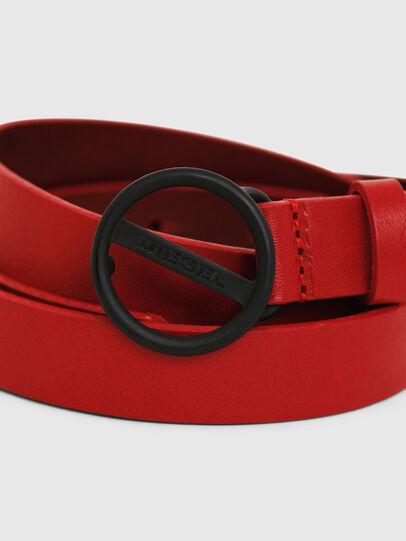 Diesel - B-BOUND, Rojo Fuego - Cinturones - Image 2