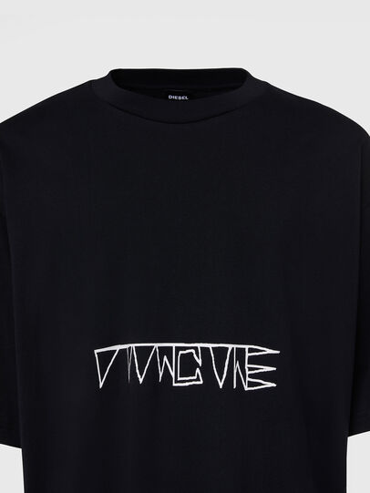 Diesel - T-BALL-X1, Negro - Camisetas - Image 3