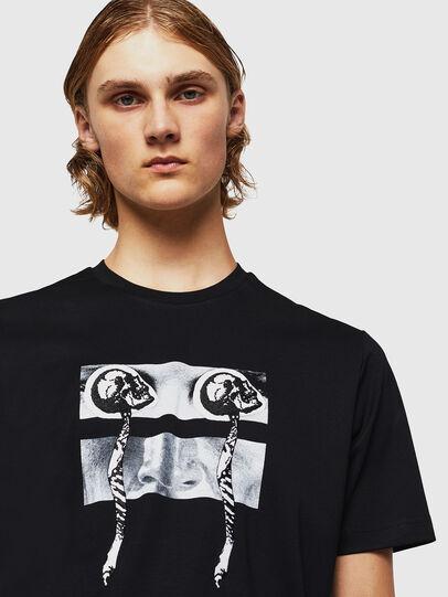 Diesel - TY-X1, Negro - Camisetas - Image 4