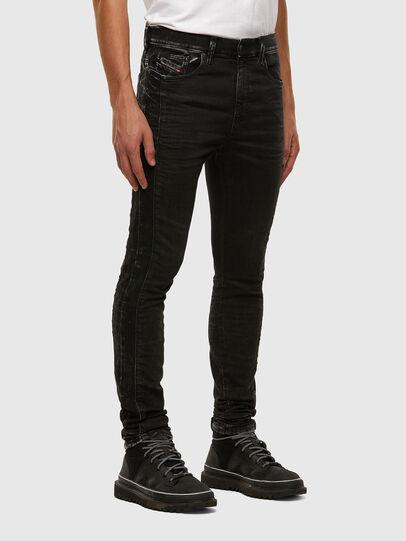 Diesel - D-Reeft JoggJeans 009FY, Negro/Gris oscuro - Vaqueros - Image 6