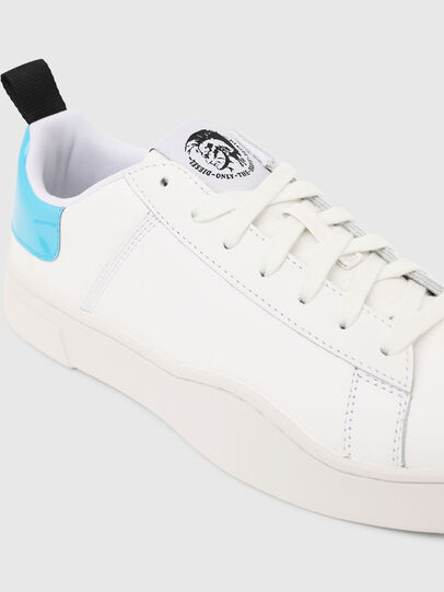 Diesel - S-CLEVER LOW LACE, Blanco/Azul - Sneakers - Image 4