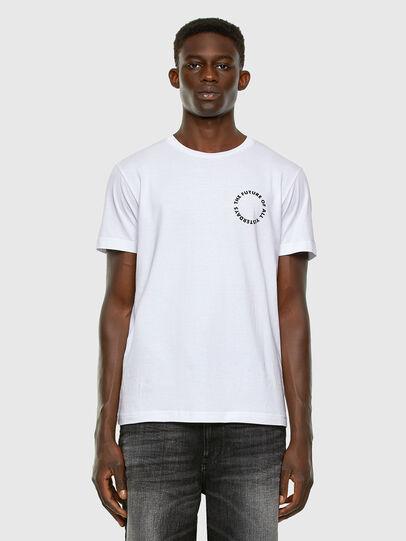 Diesel - T-DIEGOS-X46, Blanco - Camisetas - Image 5