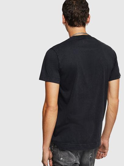 Diesel - T-THURE, Negro - Camisetas - Image 2