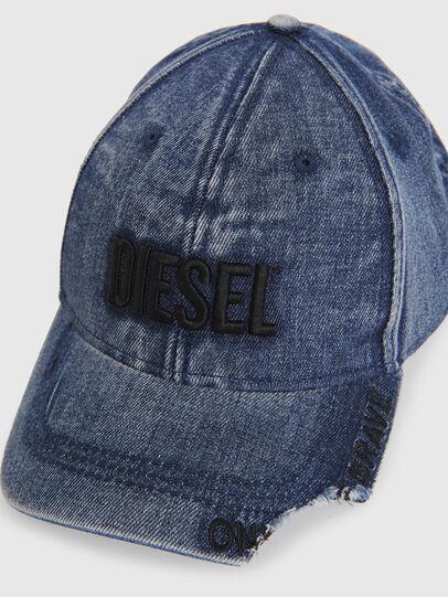 Diesel - D-BETY, Azul - Gorras - Image 3
