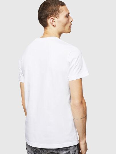 Diesel - T-DIEGO-POCKET-B1, Blanco - Camisetas - Image 2
