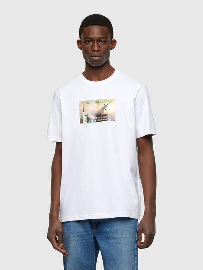 Diesel - T-JUST-A34, Blanco - Camisetas - Image 1