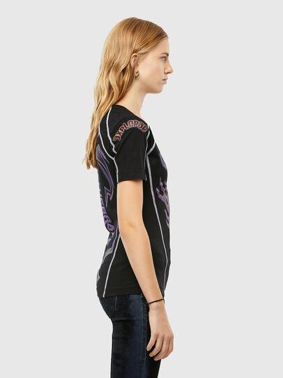 Diesel - T-TAJO, Negro - Camisetas - Image 3