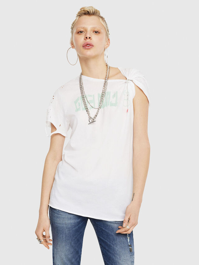 Diesel - T-FLAVIA-G, Blanco - Camisetas - Image 1