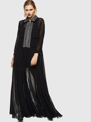 D-RAHAN-A, Negro - Vestidos