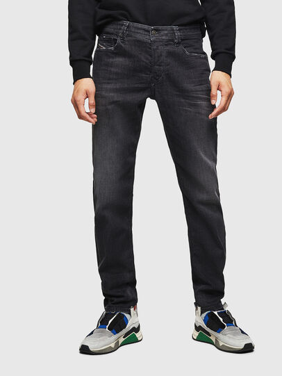 Diesel - Larkee-Beex 082AS, Negro/Gris oscuro - Vaqueros - Image 1