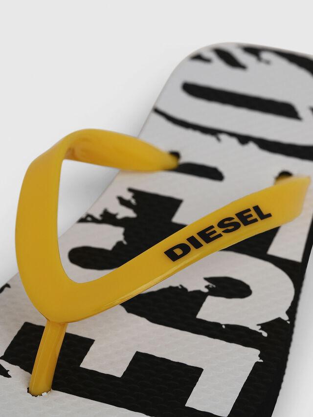 Diesel - FF 22 FLIPPER YO, Negro/Blanco - Calzado - Image 3