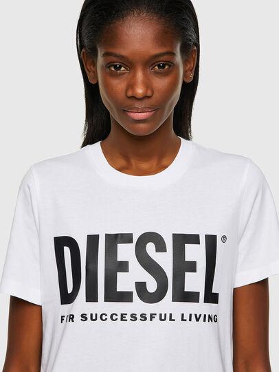 Diesel - T-SILY-ECOLOGO, Blanco - Camisetas - Image 3