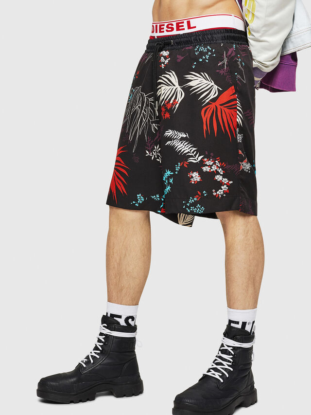 Diesel - P-NOTERY, Negro - Shorts - Image 1