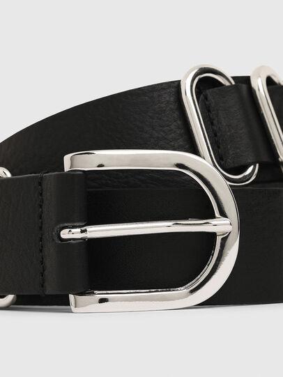 Diesel - B-MERRING, Negro - Cinturones - Image 2