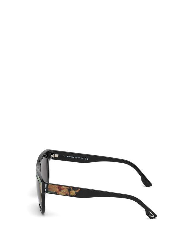 Diesel - DM0160, Negro/Naranja - Gafas de sol - Image 3
