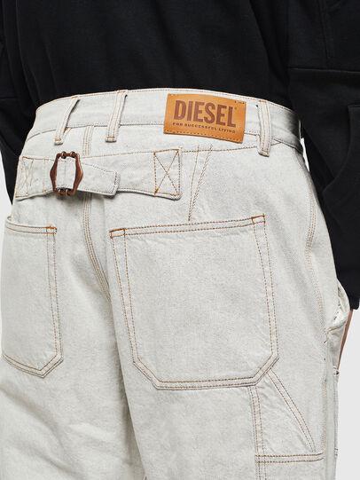 Diesel - D-FRAK, Blanco - Pantalones - Image 3