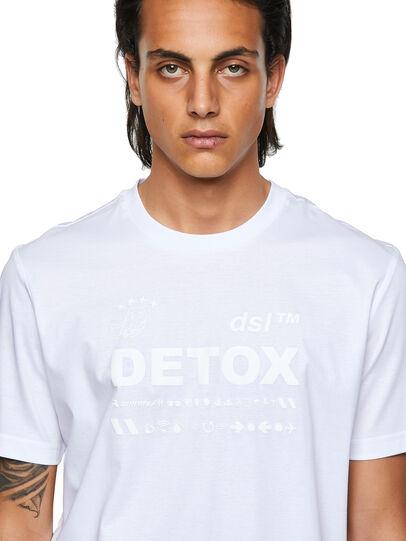 Diesel - T-JUST-B63, Blanco - Camisetas - Image 3