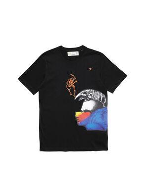 D-5055-B, Negro - Camisetas