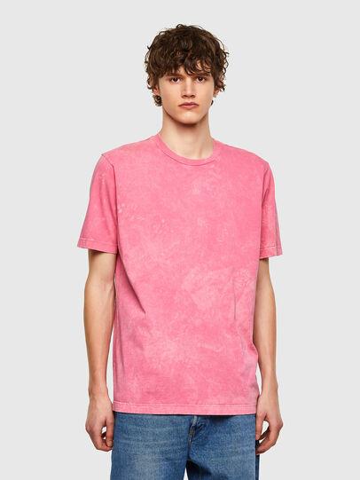 Diesel - T-JUST-E2, Rosa - Camisetas - Image 1