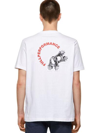 Diesel - T-JUST-B55, Blanco - Camisetas - Image 2