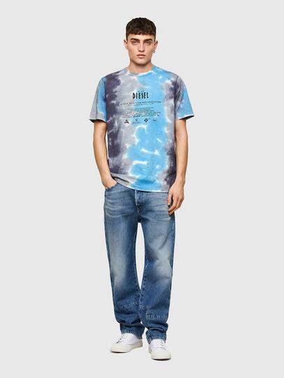 Diesel - T-JUST-E13, Gris/Azul marino - Camisetas - Image 4
