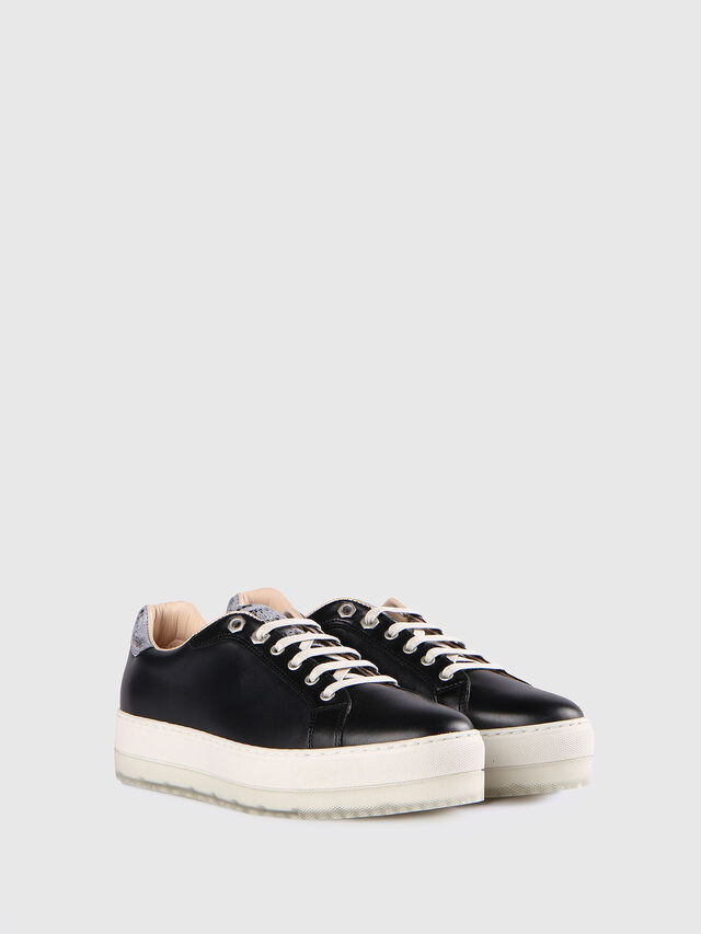 Diesel - S- ANDYES W, Negro/Plata - Sneakers - Image 2