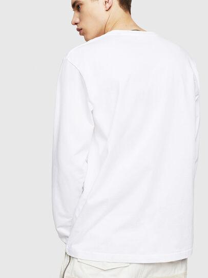 Diesel - T-JUST-LS-COPY, Blanco - Camisetas - Image 2